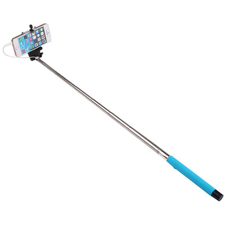 newest z07 5 plus 2 in 1 wired selfie stick handheld extendable monopod with. Black Bedroom Furniture Sets. Home Design Ideas